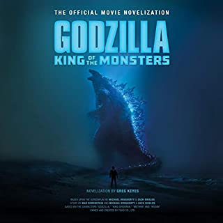Godzilla: King of the Monsters audiobook cover art