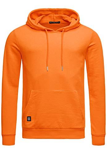 Red Bridge Herren Kapuzenpullover Hoodie Premium Basic,Orange-i,L