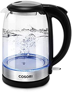 Cosori Upgraded Stainless Steel Electric Kettle With Filter & Inner Lid