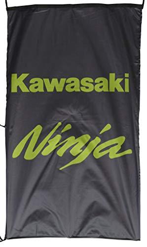 KAWA-SAKI Ninja Fahne Banner Vertikal Schwarz