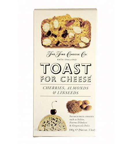 Toast for Cheese , Kirsche, Mandel, Leinsamen 100 g
