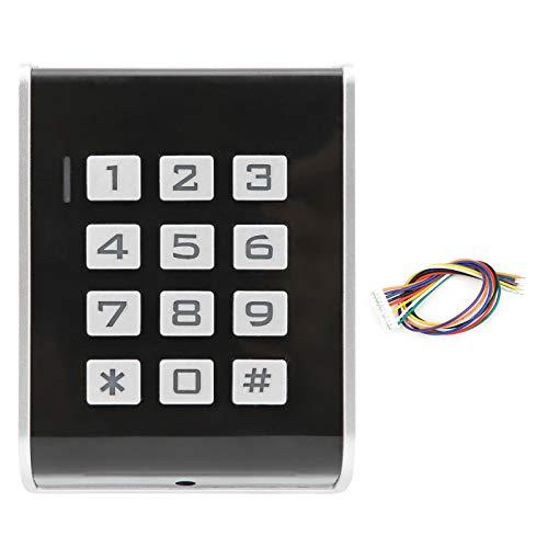 Tomanbery 13.56MHZ Operación fácil Anti-desmontaje Alarma Contraseña Tarjeta de identificación Control de Acceso a la Puerta Systerm Seguro y confiable para Wiegand26