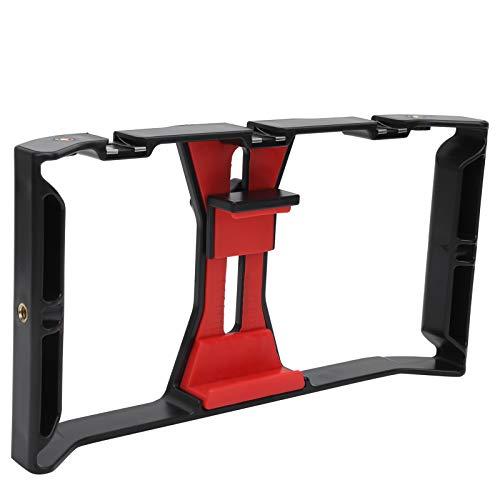 FOLOSAFENAR Soporte para teléfono móvil Resistente a la oxidación Durable Base de Zapata múltiple Soporte de Jaula de Mano Universal, para la mayoría de los Modelos de teléfonos móviles