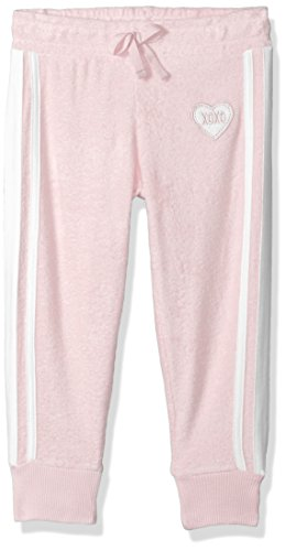 XOXO Girls' Big Terry Pant, Cameo Pink, 10/12
