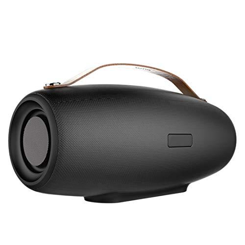 HIOD Bluetooth Altavoz Inalámbrico Al Aire Libre Portátil Bocina Bluetooth Batería Grande de 8000mAh 50h de Tiempo de Juego 33 pies Rango de Bluetooth para Familia Viajar,Black