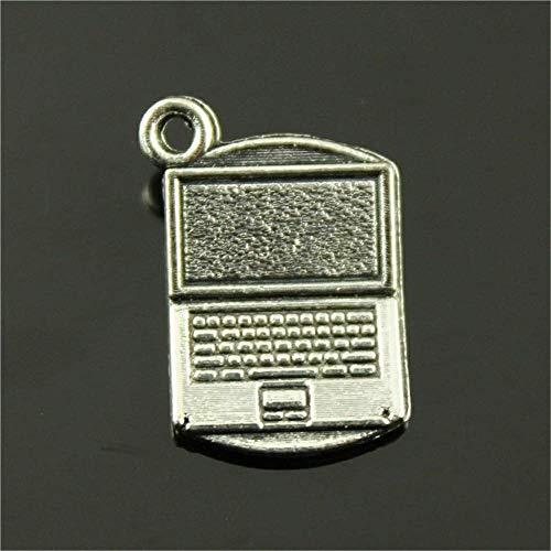 DLM-29037 (Kit 24 Pezzi) Ciondolo Ciondoli Charm Charms PC Computer Notebook Laurea Ingegneria Informatica Confettata Fai da Te bomboniera