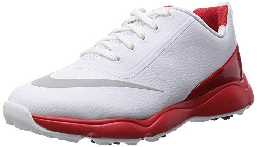 Nike Nike Control Jr, Jungen Golfschuhe Mehrfarbig Weiß/Rot 35