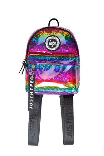 HYPE Rainbow Glitter Mini Backpack