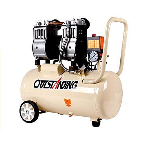 compresor de Aire silencioso Bomba de Aire pequeño sin Aceite carpintería Aire 980w-30L