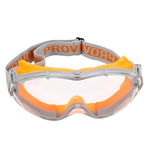 Gafas de seguridad Gafas protectoras de trabajo antichoque UV Protección ocular contra(naranja)