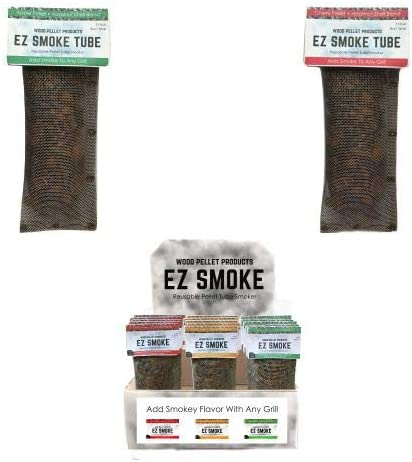 Wood Pellet WPPEZ11 favorite 20 Super intense SALE Pack EZ Tubes Box Smoke Display