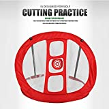WUTONG Golf Nets for Backyard Chipping Golf Batting Net Training Aids Foldable Golf Batting cage Practice Net...