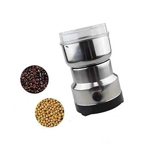 WSGLZ Kleine Fleischwolf Kornmühle, Schleifmaschine, Multifunktions-Smash-Maschine Kaffeebohne Gewürze Fräsmaschine Grinder