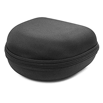 niyin204 Headphone Case For Sony SONY WH-H910N WH-H810 Hard Shell Case For Over The Ear Headphones With Full Protection Fits Most Headphone, Black by niyin204