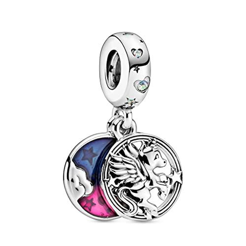 Pandora 925 ciondolo in Argento Sterling FAI da te Charms ti Amo Mamma Infinito Cuore Charms misura bracciale in Argento gioielli Originali Original