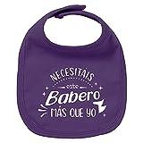 ClickInk Babero bebé Necesitáis este babero más que yo. Regalos para bebés....