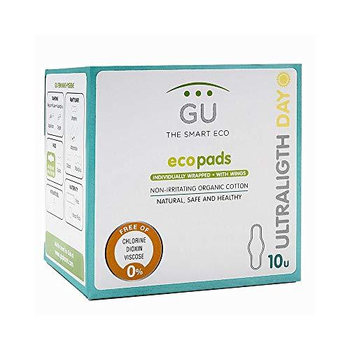 Compresas Ultraligth Día con Alas - 100% Algodón ecológico - Sin plásticos
