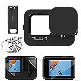 TELESIN Kit de accesorios para GoPro Hero 9 Funda protectora de silicona...
