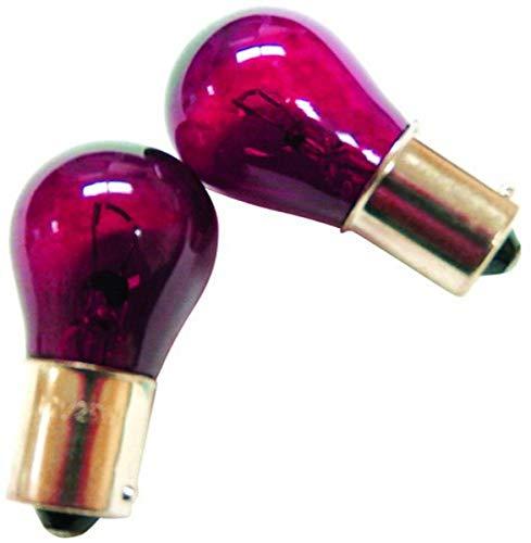 IPCW CWB-1156 Red Twist Mount 1156 Bulb - Pair