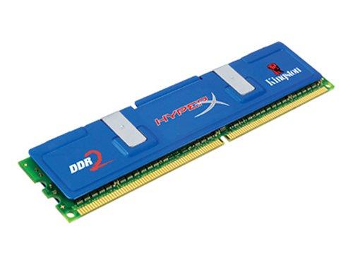 HyperX 2GB, SDRAM-DDR2, 800MHz, DDR2, Non-ECC, CL5, 256M X 64, 2.0V, Gold módulo de - Memoria (SDRAM-DDR2, 800MHz, DDR2, Non-ECC, CL5, 256M X 64, 2.0V, Gold, 2 GB, DDR2, 800 MHz, 240-pin DIMM)