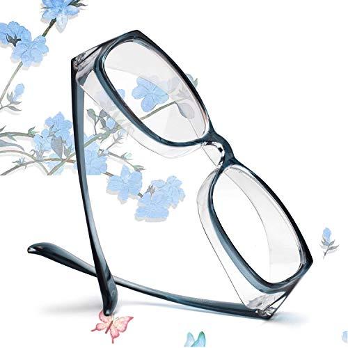 Anti-heuschnupfen Schutzbrille für Brillenträger Schutzbrillen Arbeit Gegen Virenn Wind, Anti Nebel Staubdicht Virus Goggle UV400 Sportbrille, Blau, HANAGLASSES