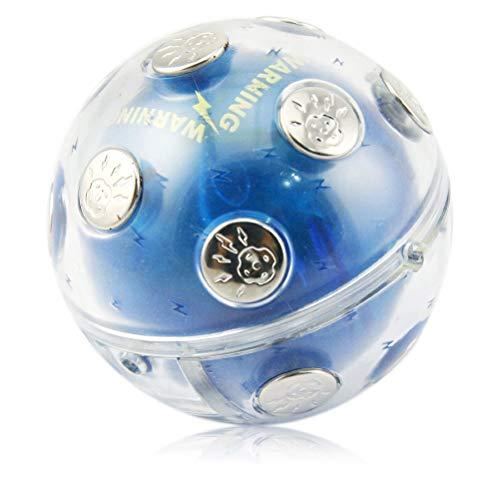HEITIGN Elektroschock-Schockball, Unterhaltung Electric Shock Ball Hot Potato Spiel für Weihnachtsfeier Abenteuer Lustiges Geschenk Trinkparty Bar Trinkspiel Gadget Toy Release Druckspielzeug
