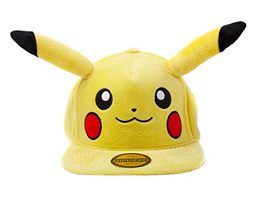 Official Pokémon Pikachu Snapback with Ears