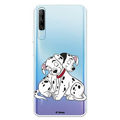 Funda para Huawei P Smart Pro - Honor 9X Pro Oficial de 101 Dálmatas Cachorros Abrazos para Proteger tu móvil. Carcasa para Huawei de Silicona Flexible con Licencia Oficial de Disney.
