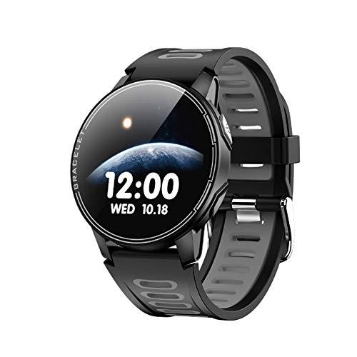 Reloj Inteligente, Deporte L6, Impermeable, Batería De Reserva Larga, Rastreador De Fitness, Frecuencia Cardíaca, Monitor De Presión Arterial, Smartwatch,C