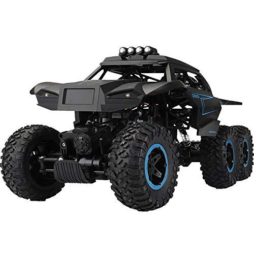 Kikioo Radio vehiculo rc camiones de alta velocidad de carreras de coches 6WD Off-Road remoto del monstruo de control Dune Buggy Hobby mejores juguetes for ninos y adultos escala 1: 8 Rock Crawler ele