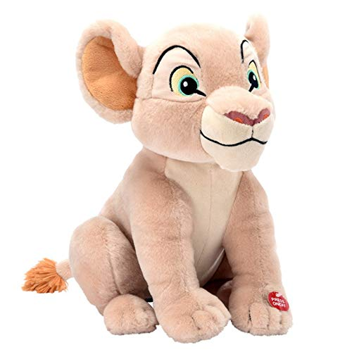 Disney - Peluche Nala luminoso, musical, color beige
