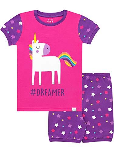 Harry Bear Pijama Corta para niñas Unicornio de Brillantina