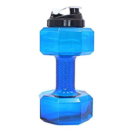Pro Shake Dumbbell Water Shaker Bottle, 2.2 Litre (Gallon)