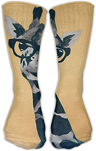 nchengcongzh 227 Socken mit Sonnenbrille, bedruckt, Unisex, bequeme Rundsocken, sportlich, lässig
