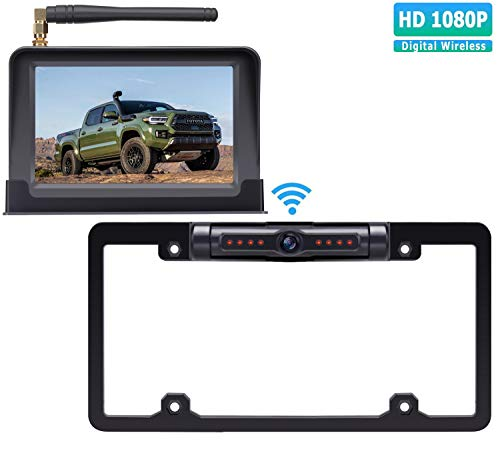 wireless car rear view camera kit - 8