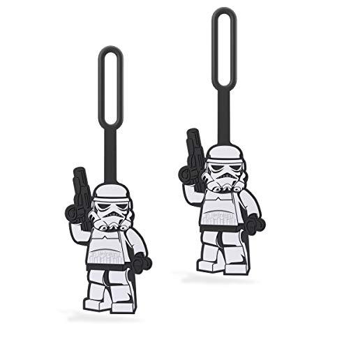 LEGO Star Wars Stormtrooper Luggage/Bag Tag - 2 Pack