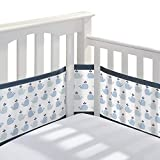 Best Crib Bumpers - BreathableBaby Classic Breathable Mesh Crib Liner - Little Review