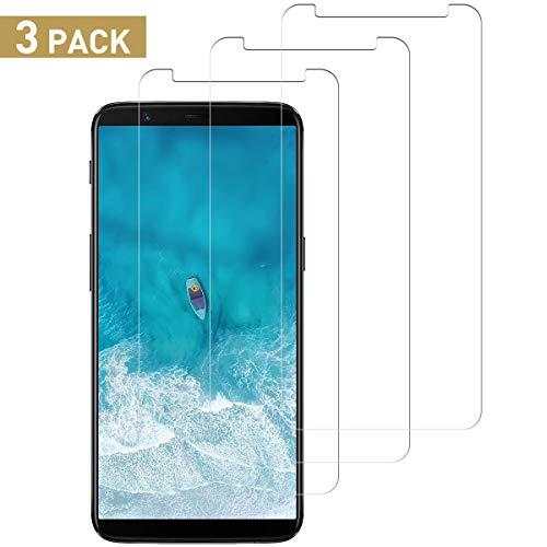 SNUNGPHIR Protector Pantalla de OnePlus 5T, [3 Piezas] 9H Dureza Cristal Vidrio Templado de Pantalla para OnePlus 5T, Alta Sensibilidad y Definición, Instalación Fácil