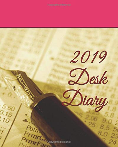 2019 Desk Diary (Diary - Plain & Simple Series)