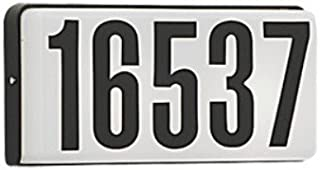 Designers Fountain 31310BK 31310-BK Address Light, 10 in. in