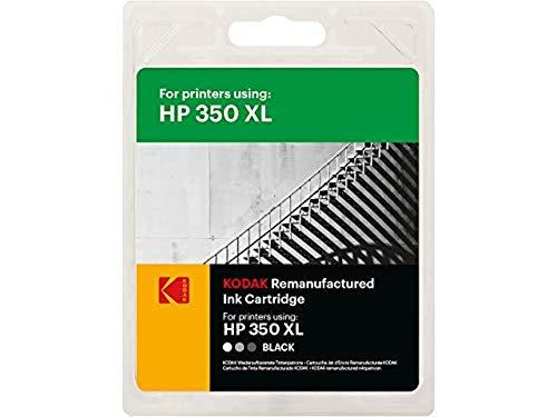 Kodak Supplies 185H035030 Adecuado para HP DJD4260 Tinta Negro Compatible también HP350XL/CB336EE 1000 Lados 30ml