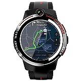 FENGJJ Smart Watch Male 4G Internet 3G + 32G Configuración 5 Millones de Camas Dobles, Reloj para Hombres, Mesa de muñeca 49 * 49 * 16.5mm,3G+32G