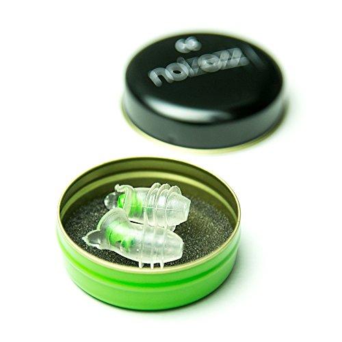 Noizezz Gehoorbescherming Premium Groen Medium Demping