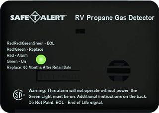 Safe T Alert RV Trailer Camper Lp Gas Mini Lp Gas Detector Sm Black 20-441-P-BL