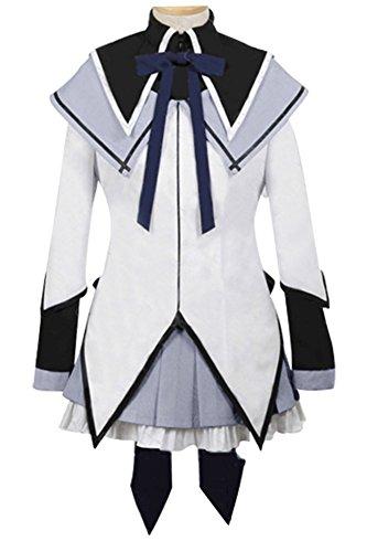 Puella Magi Madoka Magica Homura Akemi Cosplay Kostüm Kleid Damen S