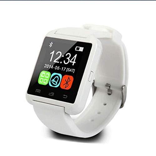 XZ15 U8 Bluetooth Reloj U80 Desgaste Inteligente U8 Reloj Inteligente altitud Deporte Paso (9.2 * 7.5 * 5.5cm) (Color : White, Size : 9.2 * 7.5 * 5.5cm)