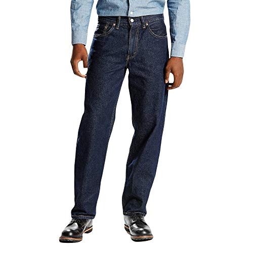 Levi Men's 550 Relaxed Fit Jeans 34x31 Rinsed (0216)