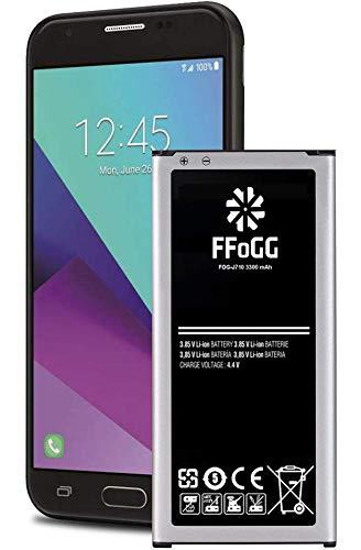 Galaxy J7 Battery,FFOGG 3300mAh Galaxy J7 J727 J727A J727V J727R4 J727T J727T1 J7 Perx J7 Sky Pro J7 Prime EB-BJ710CBC[24 Month Warranty]