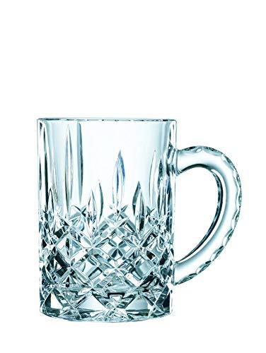 Spiegelau & Nachtmann, Bierkrug mit Schliffdekoration, Kristallglas, 600 ml, Noblesse, 0095635-0