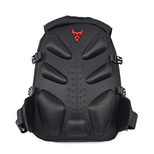 Following Moto - Mochila Central para Casco de Motocicleta, Impermeable, Gran Capacidad,...